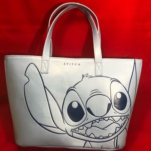 Disney Loungefly Lilo and Stitch blue tote bag